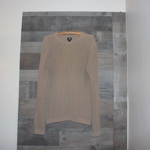 H&M Brown Scoop Neck Sweater Women's Small